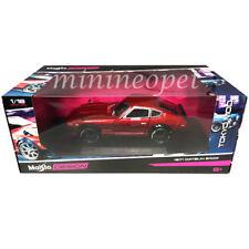 MAISTO 32611 TOKYO MOD 1971 DATSUN 240 Z 1/18 DIECAST MODEL CAR RED