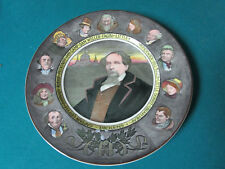 """ROYAL DOULTON ANTIQUE COLLECTOR PLATE CHARLES DICKENS 10 1/2"""" D6306"""