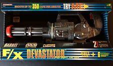 RARE HUGE LOT TOOTSIETOY F/X DEVASTATOR ELECTRONIC CAP MACHINE GUN 1992 MIB NRFB