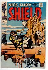 Nick Fury Agent of Shield Vol 1 No 7 Dec 1968 (FN/VFN)(7.0)Silver Age(1956-1969)