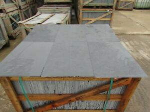 Brazilian Graphite Black Slate Tiles Flooring✔30m2 600x400 10mm Thick FREE DEL