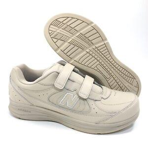NEW New Balance MW577VB Beige Strap Walking Shoes Leather DSL-2 Men's Size 10 2E
