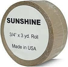 Sunshine double sided lace wig toupee hairpiece adhesive tape roll UK