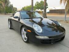 2006 Porsche 911 Carrera-4 Convertible 3.6L V6/6Speed Manual