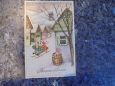 beau lot de huit carte postale ancienne enfantine......