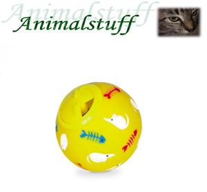 Nobby Snackball für Katzen Ø 7,5cm gelb