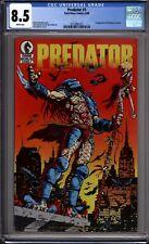 Predator 1 CGC Graded 8.5 VF+ Dark Horse Comics 1989