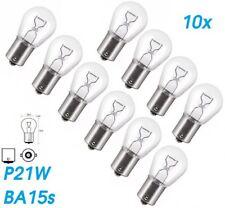 10x P21W BA15S 21W 12V Glühlampe Birne Soffitte Beleuchtung Auto Lampe Glas