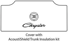 1965 1968 Chrysler 300 Trunk Rubber Floor Mat Cover with MB-080 Chrysler 300