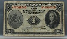 Nederlands Indie  Netherlands Indies 1 gulden 1943
