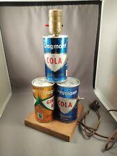 Vintage Lamp 12oz Cragmont Soda Pop Cans Safeway Oakland California