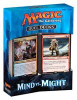 MTG Duel Decks Mind vs Might - Factory Sealed - Brand New - Free Ship!