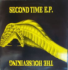 """12"""" Maxi  The Houseviking – Second Time EP ,MINT-,cleaned, Hardcore, Gabber"""
