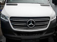 Mercedes W907 Sprinter 2018 > Chrome Grille de Calandre 5 pcs INOXYDABLE