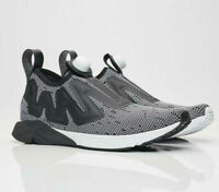 Reebok Pump Supreme Mens Trainers Fitness Gym Running Shoes Black White