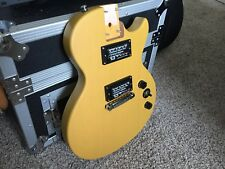 Epiphone Les Paul BODY - Limited Edition Worn TV Yellow w/ Humbuckers - Loaded!!