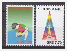 Surinam / Suriname 2004 Childcare kinder kerstmis christmas weihnachten MNH