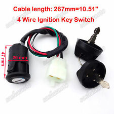 ATV Ignition Key Switch For Eton Viper Sierra Impuls Rascal 50cc 70cc 90cc Quad