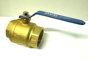 "3"" 400# CWP Female NPT Full Port Brass Ball Valve Plumbing Water <BR0311051158"