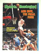 1981 Sports Illustrated SI Magazine Basketball Virgina Sampson Bringham Young