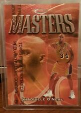 SHAQUILLE O'NEAL 97-98 Topps Finest MASTERS BRONZE REFRACTOR INSERT SP  RARE