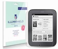 iLLumiShield Anti-Glare Screen Protector 3x for Barnes & Noble NOOK Touch Reader