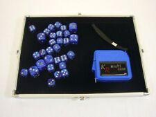 Custodia accessoria d'argento con 30 Dadi & Tape Measure-perfetto per WH 40K-E-262