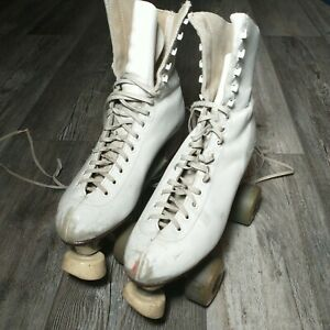 Vintage RIEDELL RED WING SURE GRIP CENTURY PLATES (4) ROLLER SKATES