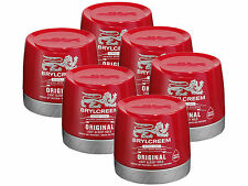 3 X 250ml Brylcreem Brylcream Original Hair Styling Red Tub Stock up