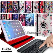 Leather Stand Case Cover + Wireless Blutooth Keyboard For iPad 2/3/4/Air/Pro