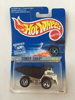 RARE HOT WHEELS 1995 TOWER TIRES DUMP TRUCK INTERNATIONAL CARD