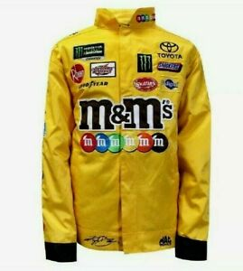 Kyle Busch #18 M&Ms 2019 Snap Up Replica Uniform Pit Jacket