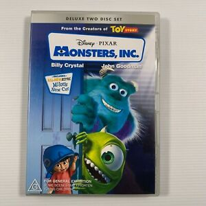 Monsters, Inc. Deluxe Edition (DVD 2002 2 discs) Disney Pixar Region 4