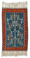RRA 6x10 Turkish Kilim Tree of Life Red Blue Rug 034568