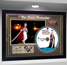 Freddie Mercury The Great Pretender  SIGNED FRAMED PHOTO CD Disc
