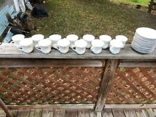 Porcelian fine China Diane from Japan cups,dishes ,saucers, 56 Pieces