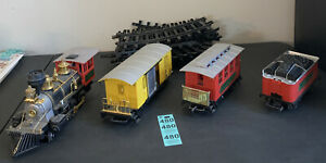 """AMERICAN CLASSIC EXPRESS TRAIN SET by """"Toy State"""" G scale Tracks Untested"""