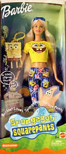 BARBIE Collection_BARBIE LOVES SPONGEBOB SQUAREPANTS Doll_BLOND_Original_New_MIB