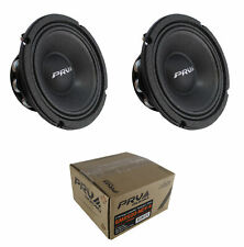 "2x 6"" PRV Audio 6MR500-NDY-4 Neodymium Mid Range 4 Ohm 1000W Car Audio Speaker"