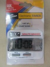 Lux Minute Minder Electronic Timer  #CU100 NEW  FREE Shipping!!!!