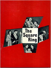 SQUARE RING 1953 Robert Beatty Joan Collins JAMES BOSWELL Ealing BROCHURE