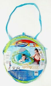 SwimWays Baby Spring Float Pool Sun Removable Adjustable Canopy NEW