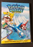 Pokemon Heroes The Movie (DVD) NEW