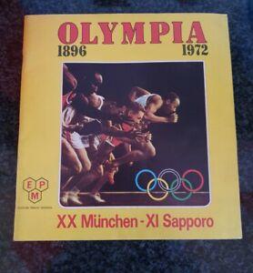 ALBUM FIGURINE  OLYMPIA 1896 1972 PANINI  VUOTO