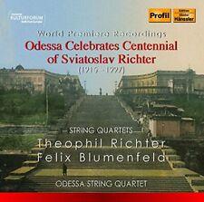 Odessa String Quartet - Centennial Of Richter [Odessa String Quartet] [CD]