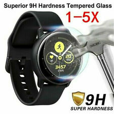 5Pcs Screen Protector Accessories Tempered Glass For Samsung Galaxy Watch Active