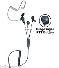 3-Wire Earpiece Headset Microphone Kenwood Linton Puxing TC620 Relm Wouxun K1