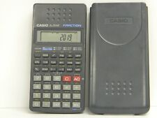 CASIO fx - 25 HC Fraction Calculator w Plastic Sleeve Tested/Works Great Clean//