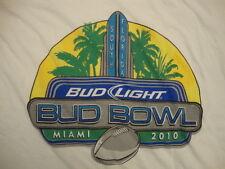 Bud Light Bowl Miami Florida 2010 Football Playoff Game Championship T Shirt XL