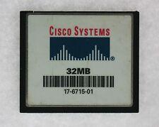 Cisco 17-6715-01 Systems 32mb Flash-Karte für C2600 Router